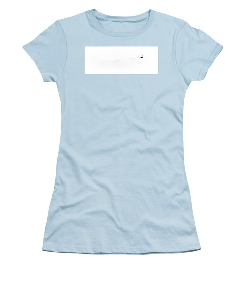 Goose On The Pond Women's T-Shirt (Junior Cut) by David Patterson