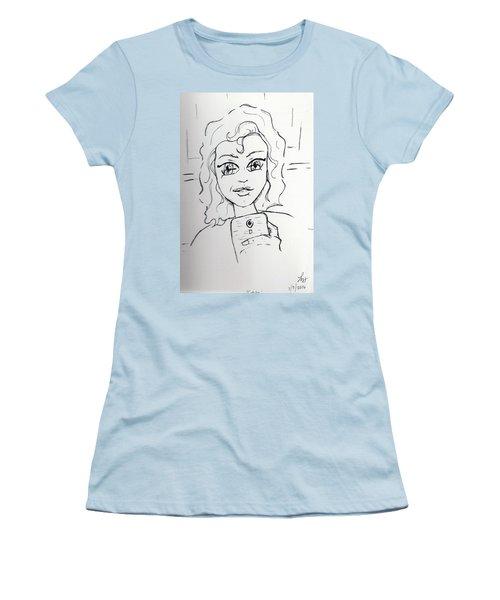 Gotcha Women's T-Shirt (Junior Cut) by Loretta Nash