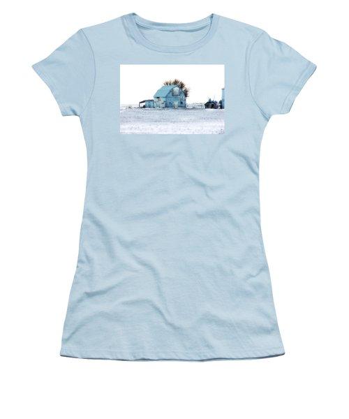 Women's T-Shirt (Junior Cut) featuring the photograph Grays by Julie Hamilton