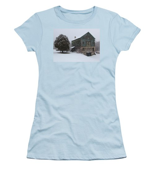 Grist Mill Of Port Hope Women's T-Shirt (Junior Cut) by Davandra Cribbie