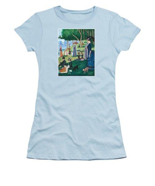 Guadalupe Visits Seuart Women's T-Shirt (Junior Cut) by James Roderick