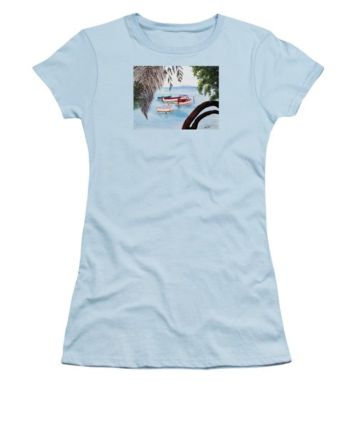 Guanica Bay Women's T-Shirt (Athletic Fit)