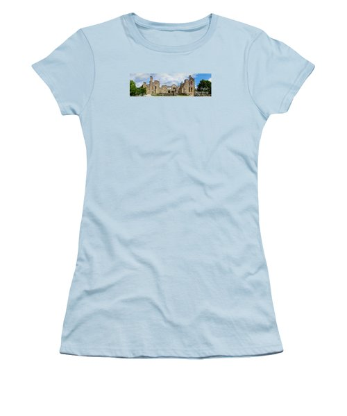 Ha Ha Tonka Castle Panorama Women's T-Shirt (Athletic Fit)