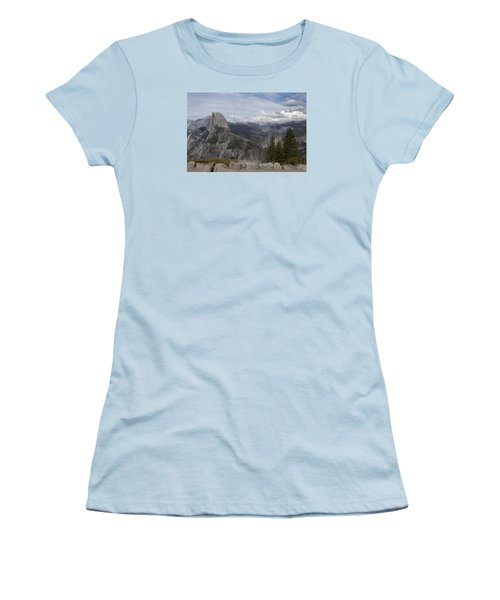 Half Dome Women's T-Shirt (Junior Cut) by Ivete Basso Photography