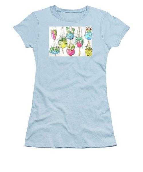 Hanging Garden Women's T-Shirt (Junior Cut) by Whitney Morton