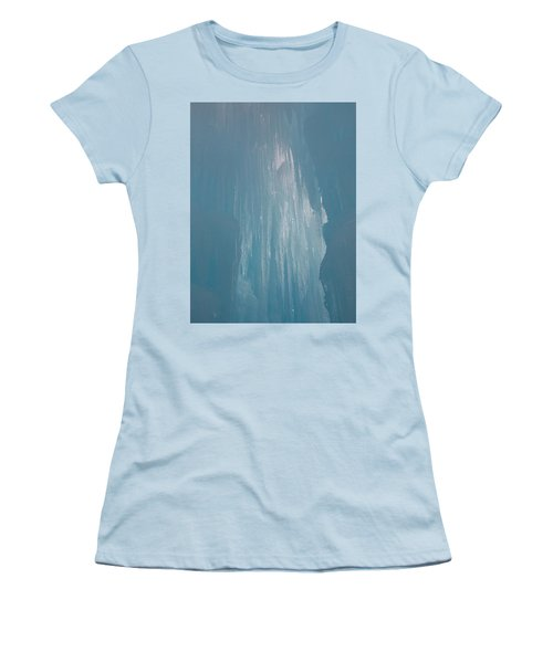 Hanging Icicles Women's T-Shirt (Junior Cut) by Catherine Gagne