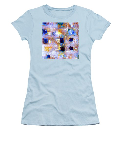 Women's T-Shirt (Junior Cut) featuring the painting Hard Eight by Dominic Piperata