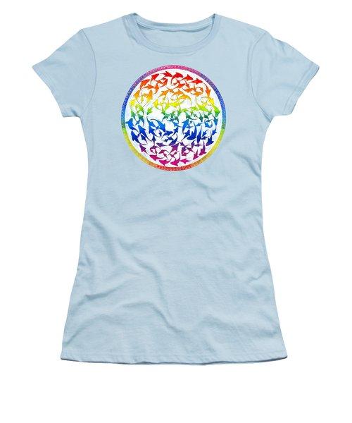Harmony Women's T-Shirt (Junior Cut) by Rebecca Wang