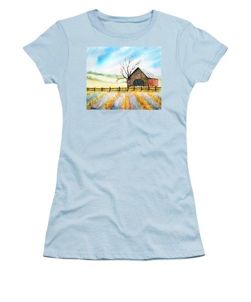 Harvest Season Women's T-Shirt (Athletic Fit)