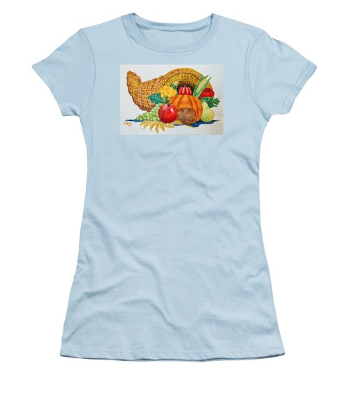 Harvest Time2  Women's T-Shirt (Athletic Fit)