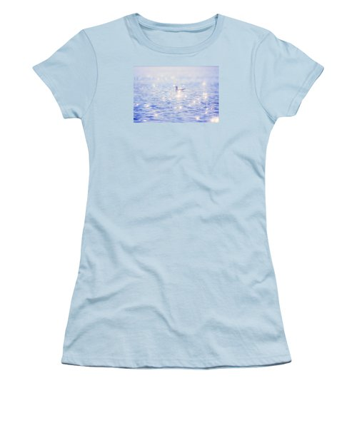 Heaven On The Lake- Lake Mary Ronan  Women's T-Shirt (Athletic Fit)