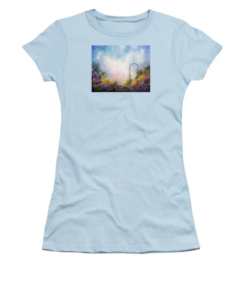 Heaven's Gate Women's T-Shirt (Junior Cut) by Marina Petro