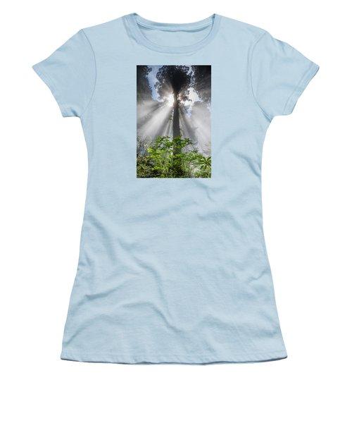Heaven's Light Women's T-Shirt (Junior Cut) by Greg Nyquist