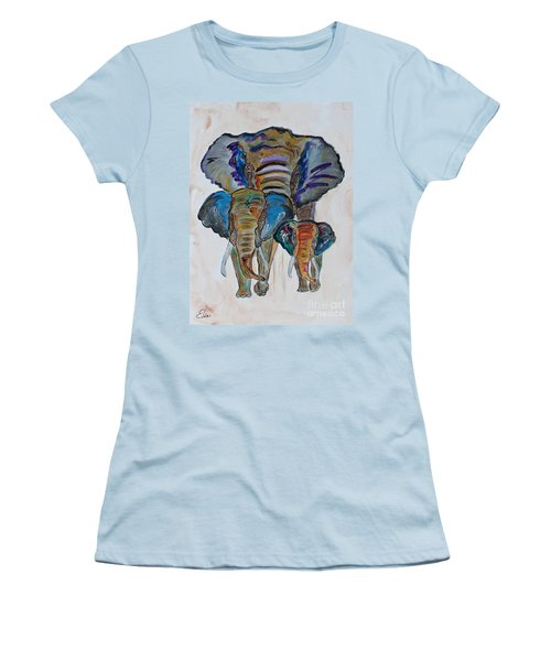 Heritage Walk Women's T-Shirt (Junior Cut) by Ella Kaye Dickey