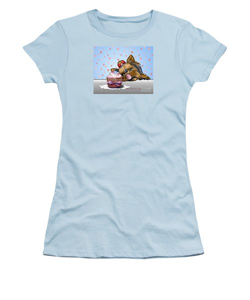 Hey There Cupcake Women's T-Shirt (Athletic Fit)