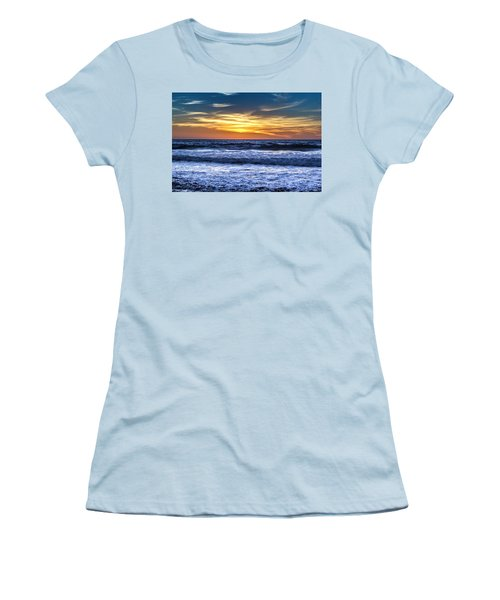 Hidden Sunset Women's T-Shirt (Athletic Fit)