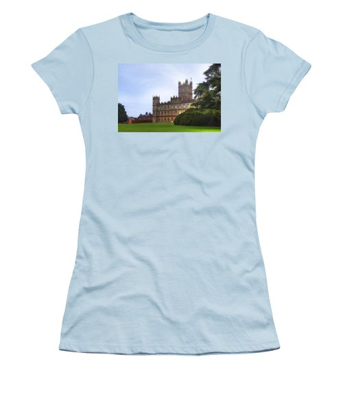 Highclere Castle Women's T-Shirt (Athletic Fit)