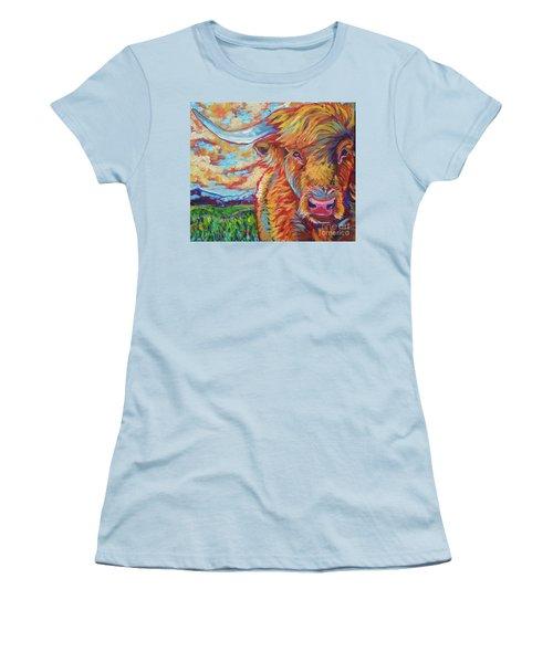 Highland Breeze Women's T-Shirt (Athletic Fit)