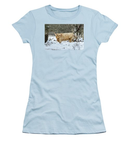 Highlander In Winter Women's T-Shirt (Athletic Fit)