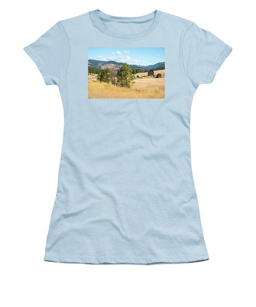 Highway 97 Ranch Memories Women's T-Shirt (Athletic Fit)