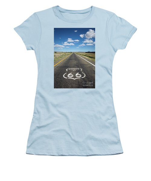 Historica Us Route 66 Arizona Women's T-Shirt (Athletic Fit)