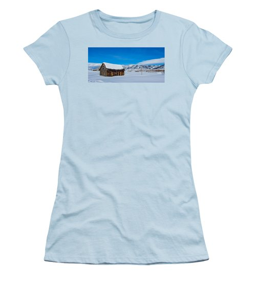 Homestead Women's T-Shirt (Junior Cut) by Sean Allen
