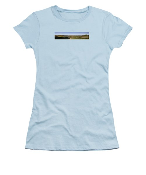 Women's T-Shirt (Junior Cut) featuring the photograph Horicon Marsh Wildlife Refuge by Ricky L Jones