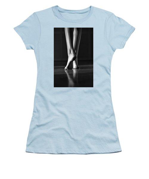 Women's T-Shirt (Junior Cut) featuring the photograph Human by Laura Fasulo