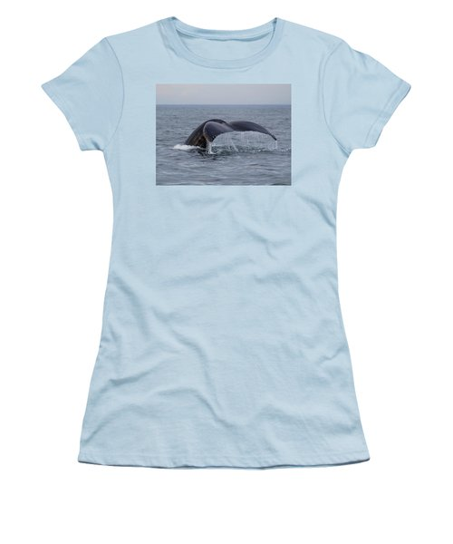 Humpback Whale Women's T-Shirt (Athletic Fit)