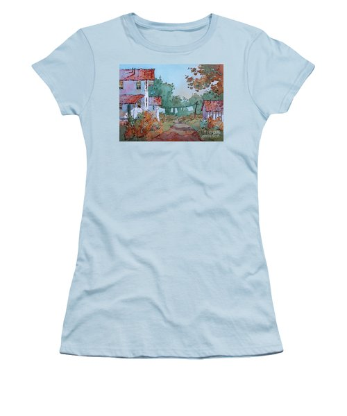 Hung Out To Dry Women's T-Shirt (Athletic Fit)