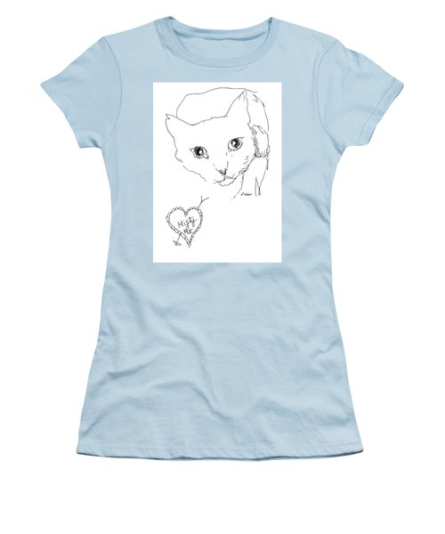 I Love Misty Women's T-Shirt (Junior Cut) by Denise Fulmer
