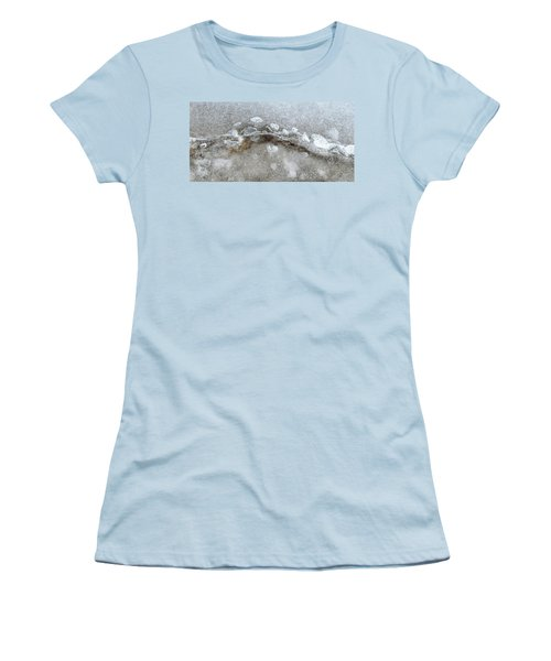 Ice And The Beach Four  Women's T-Shirt (Junior Cut) by Lyle Crump