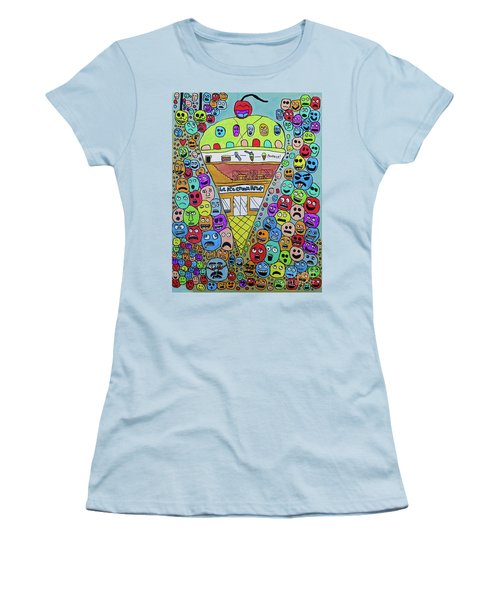 Icecream Parlor Women's T-Shirt (Athletic Fit)