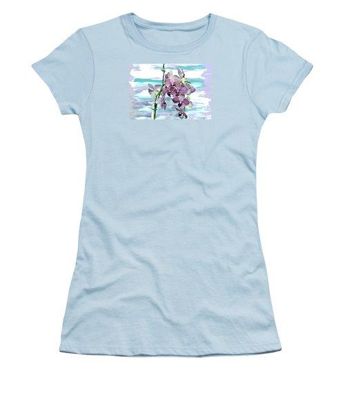 Imperial Orchids Women's T-Shirt (Junior Cut) by Marsha Heiken