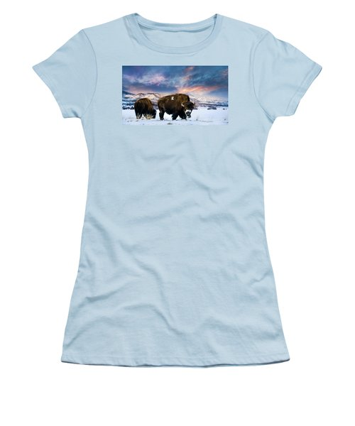 In The Grips Of Winter Women's T-Shirt (Junior Cut)