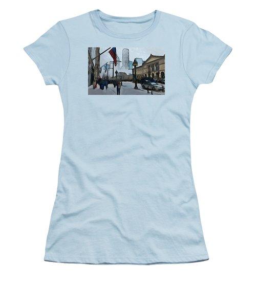 Infrastruction Meltdown Women's T-Shirt (Athletic Fit)