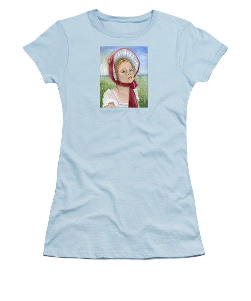 Innocence Women's T-Shirt (Junior Cut) by Terry Webb Harshman