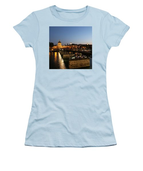 Women's T-Shirt (Junior Cut) featuring the photograph Institute Of France by Andrew Fare