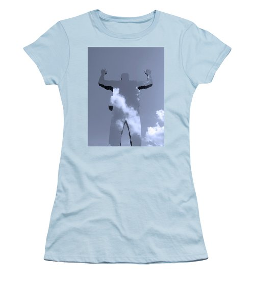 Women's T-Shirt (Junior Cut) featuring the photograph Invisible ... by Juergen Weiss
