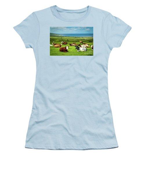 Ireland - Westcoast Women's T-Shirt (Junior Cut) by Juergen Klust