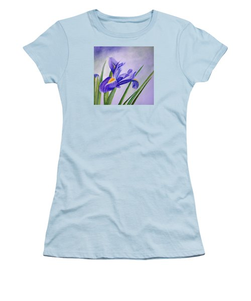 Iris Women's T-Shirt (Junior Cut) by Allison Ashton