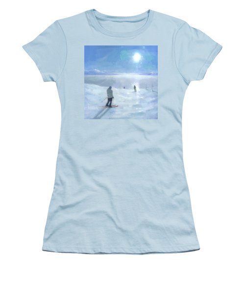 Islands In The Cloud Women's T-Shirt (Athletic Fit)