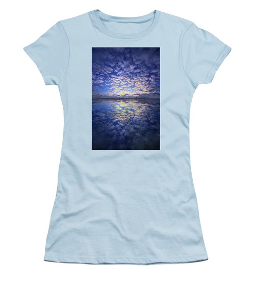 Women's T-Shirt (Junior Cut) featuring the photograph It Was Your Song by Phil Koch