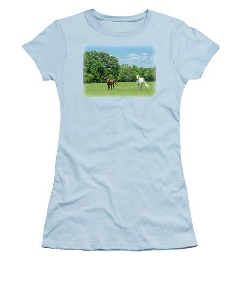 Jefferson Landing Series No. 3 Women's T-Shirt (Junior Cut) by Laura DAddona