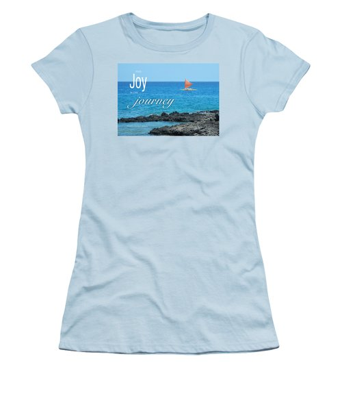 Joy In The Journey Women's T-Shirt (Athletic Fit)