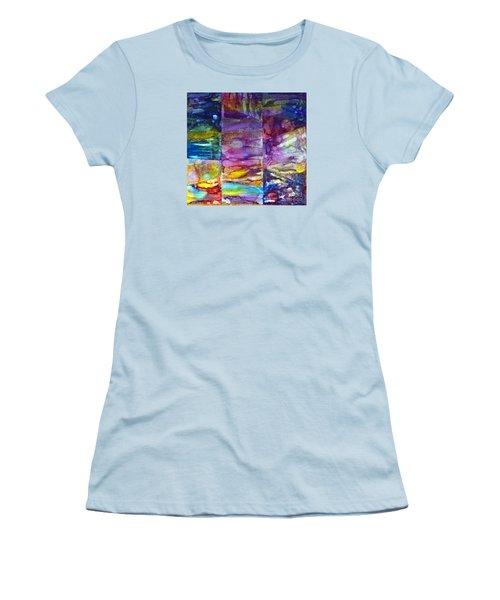 Jubilation Women's T-Shirt (Junior Cut) by Alene Sirott-Cope
