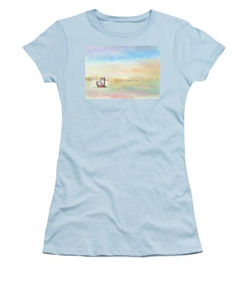 Junk Sailing Women's T-Shirt (Junior Cut) by R Kyllo