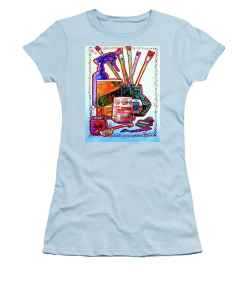 Just Stuff Women's T-Shirt (Athletic Fit)