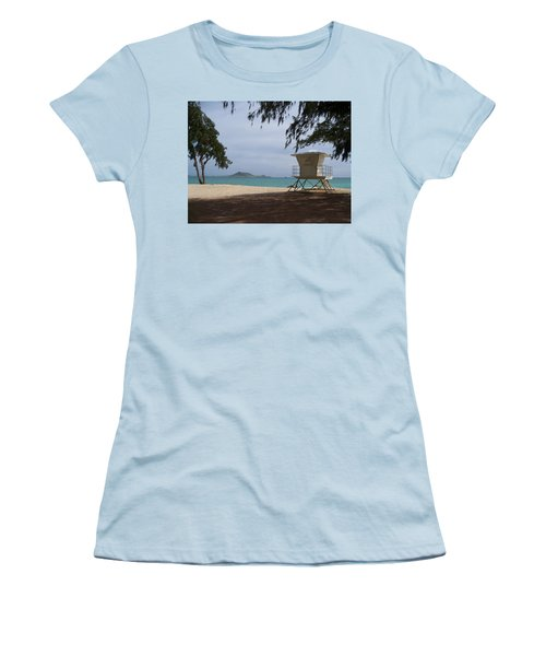Kailua Beach Women's T-Shirt (Athletic Fit)
