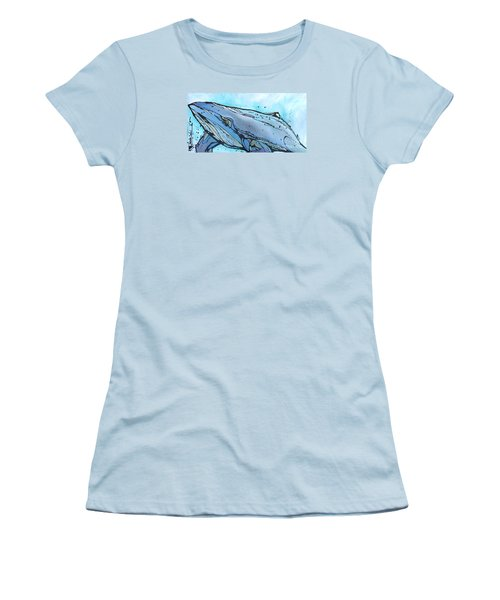 Keep Swimming Women's T-Shirt (Athletic Fit)